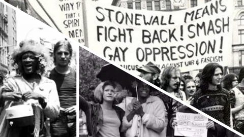 Picture of Marsha P. Johnson and others.