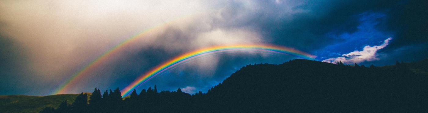 Rainbows over Mountains
