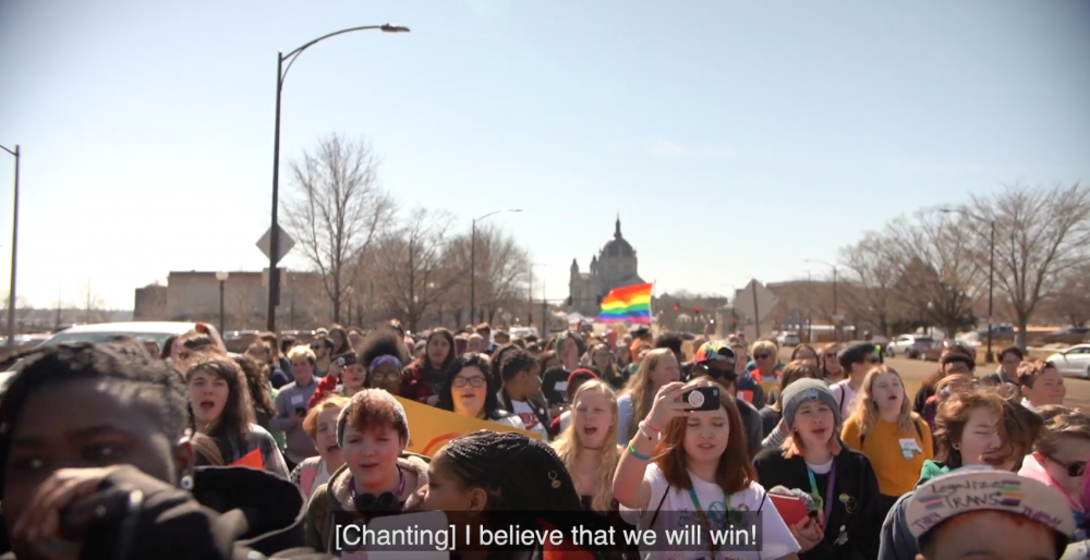 LGBTQ+ Youth March to the Capitol
