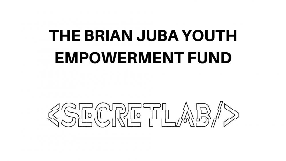 The Brian Juba Youth Empowerment Fund and Secret Lab